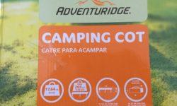 Adventuridge Camping Cot