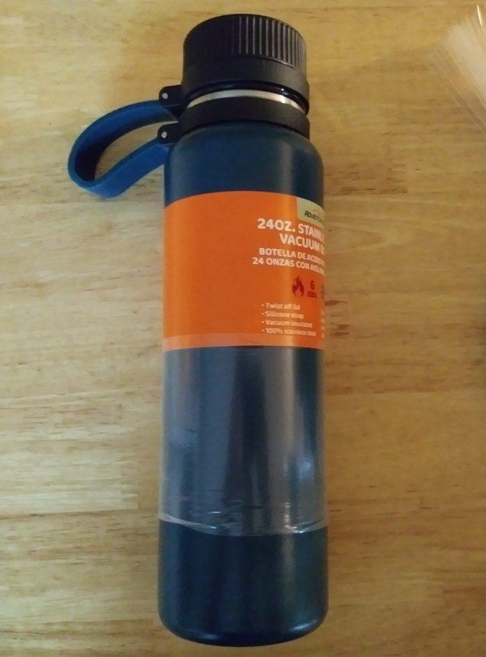 Adventuridge 24 Ounce Stainless Steel Vacuum Bottle Aldi