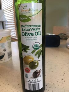 Simply Nature Organic Olive Oil