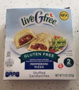 liveGfree - Pepperoni Pizza