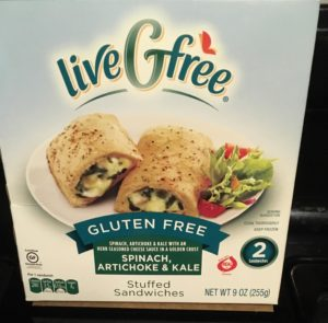 liveGfree - Spinach, Artichoke, and Kale