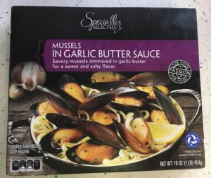 Specially Selected Mussels in Garlic Butter Sauce