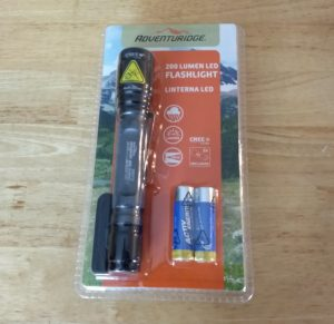 Adventuridge 200 Lumen LED Flashlight