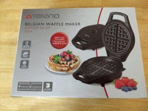 Ambiano Belgian Waffle Maker