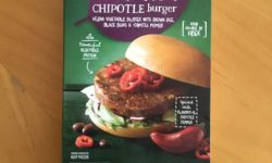 Earth Grown Vegan Southwest Style Black Bean Chipolte Burger