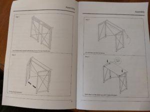 SOHL Furniture Life Concepts Folding Computer Desk