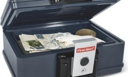 First Alert Waterproof Fire-Safe Security Chest