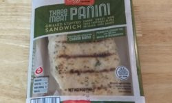 Mama Cozzi's Three Meat Panini Grilled Stuffed Sandwich
