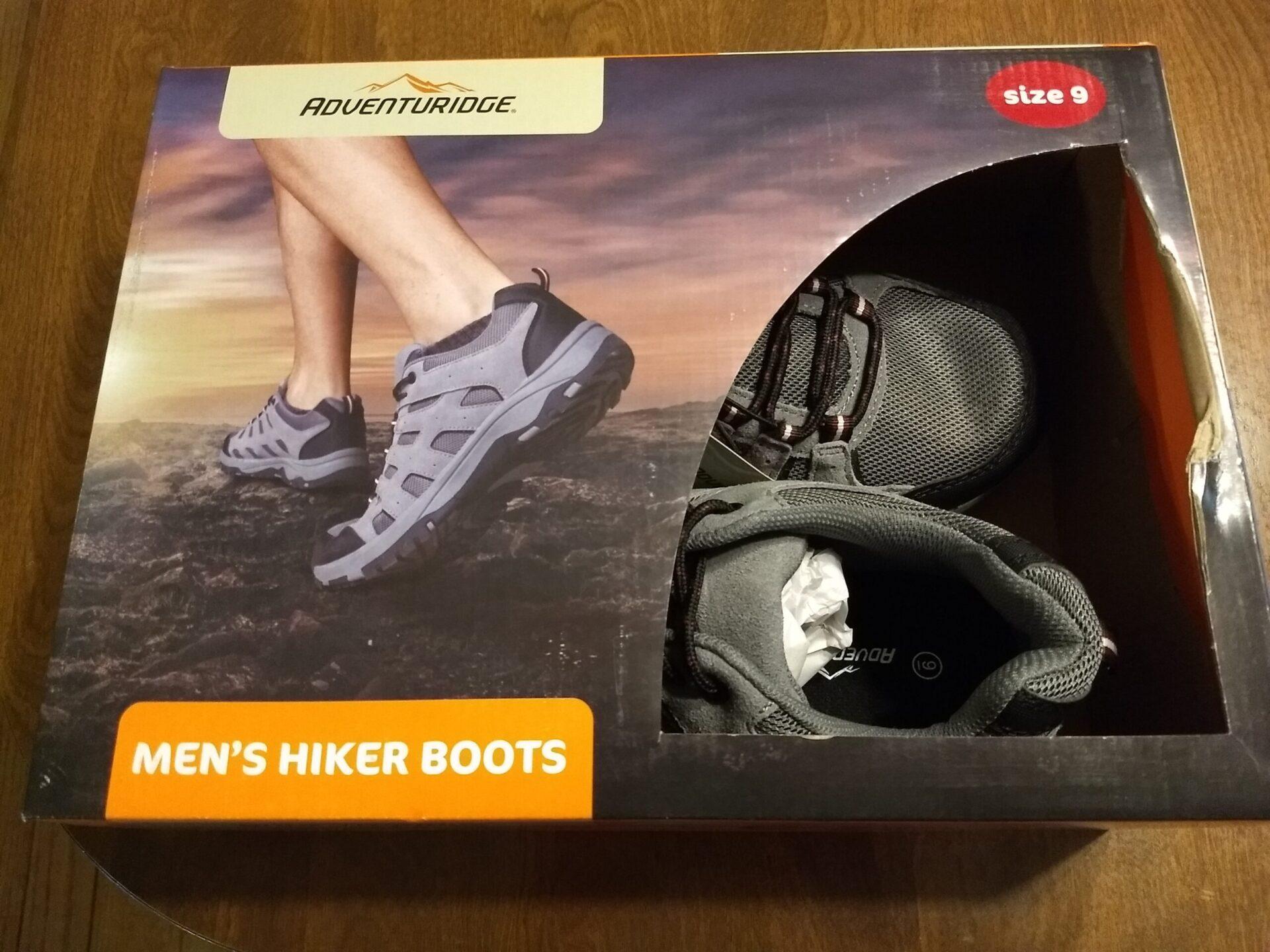 700f5b58002 Adventuridge Men's Hiker Boots | ALDI REVIEWER