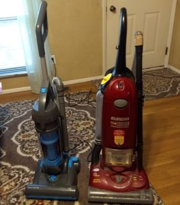 Easy Home Bagless Upright Vacuum