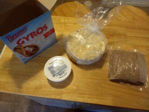 Bremer Gyros Complete Sandwich Kit