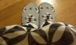 Serra Slipper Socks Huntington Home Throw