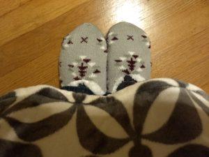 Serra Slipper Socks Huntington Home Throw