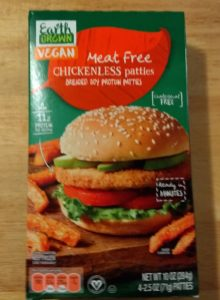 Earth Grown Vegan Meat Free Chickenless Patties