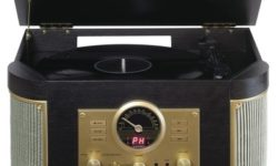 Bauhn Nostalgic Turntable with Bluetooth