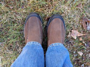 Adventuridge Men's Suede Slip-On Shoes