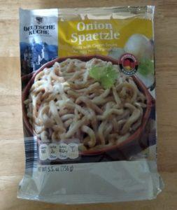 Deutsche Kuche Onion Spaetzle