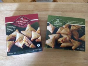 Trader Joe's Mini Samosas