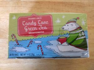 Trader Joe's Candy Cane Green Tea