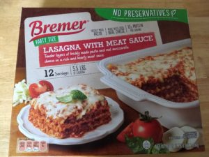 Bremer Party Size Lasagna with Meat Sauce