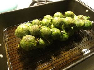 Queen Victoria Brussels Sprouts Stalk