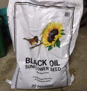 Aldi black oil sunflower seed