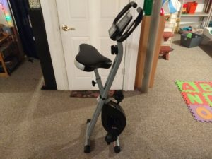 Crane Foldable Exercise Bike 7
