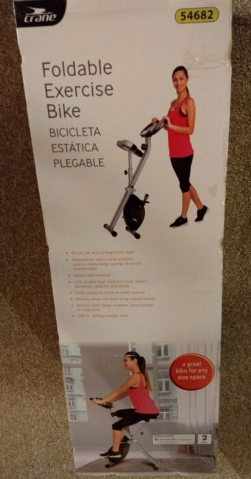 Crane Foldable Exercise Bike