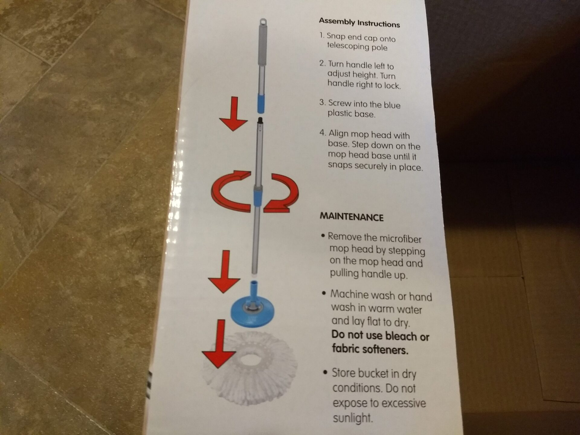 Easy Home Spin Mop Aldi Reviewer