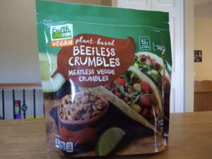 Earth Grown Vegan Beefless Crumbles