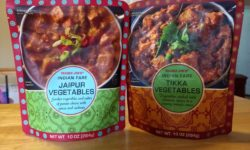 Tikka Vegetables and Jaipur Vegetables