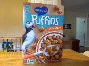 Trader Joe's Barbara's Puffins Cereal