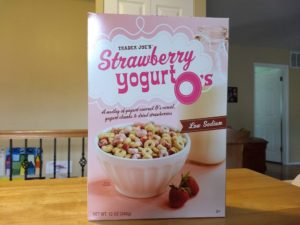Trader Joe's Strawberry Yogurt O's