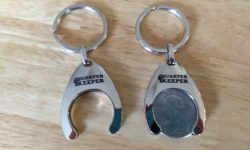 Aldi Solutions Quarter Keychain Holder