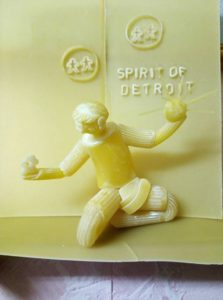 Pasta Art - Spirit of Detroit