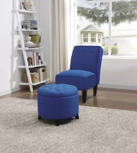 SOHL Furniture Tufted Slipper Chair