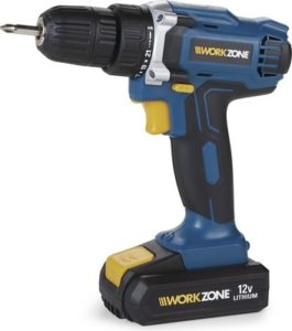 WORKZONE 12V Lithium-Ion Cordless Drill