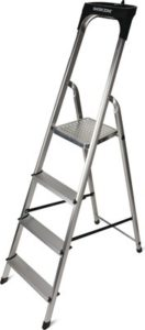 WORKZONE 4-Step Aluminum Ladder
