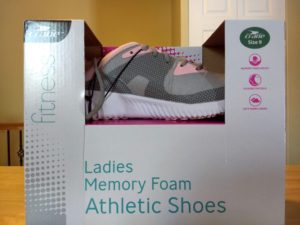 Crane Ladies Memory Foam Athletic Shoes