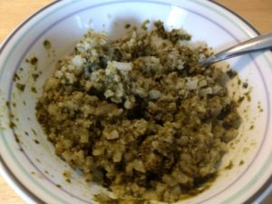 Earthly Grains Basil Pesto Cauliflower Meal