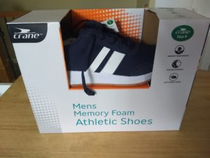 Crane Mens Memory Foam Athletic Shoes