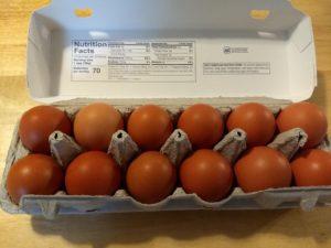 Goldhen Free Range Brown Eggs