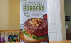 Simply Nature Grass Fed Ground Beef Burgers
