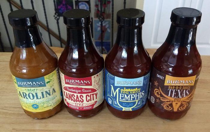 Burman's BBQ Sauce
