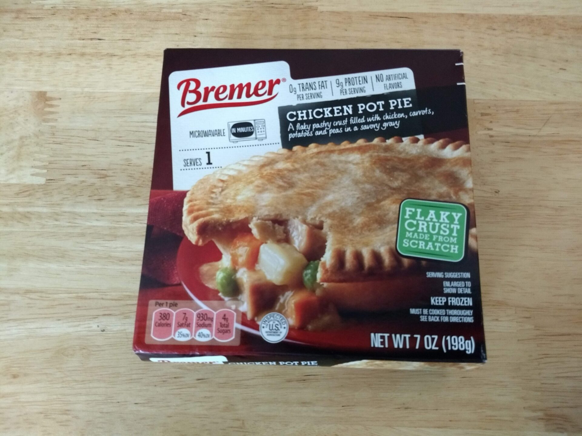 Bremer Chicken Pot Pie Aldi Reviewer