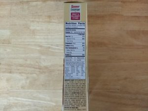 Bremer Gravy & Salisbury Steaks Nutrition Info