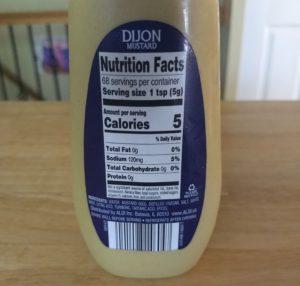 Burman's Dijon Mustard - Ingredients