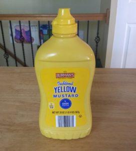 Burman's Traditional Yellow Mustard