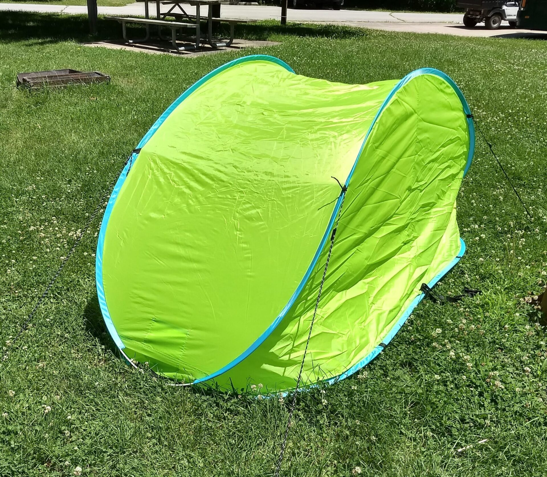 Crane Pop Up Sun Shelter Aldi Reviewer