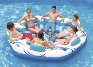 Summer Waves 6-Person Party Pad